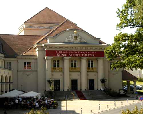 König Albert Theater in Bad Elster